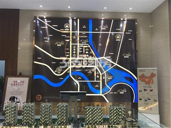 长虹国际城四期交通图