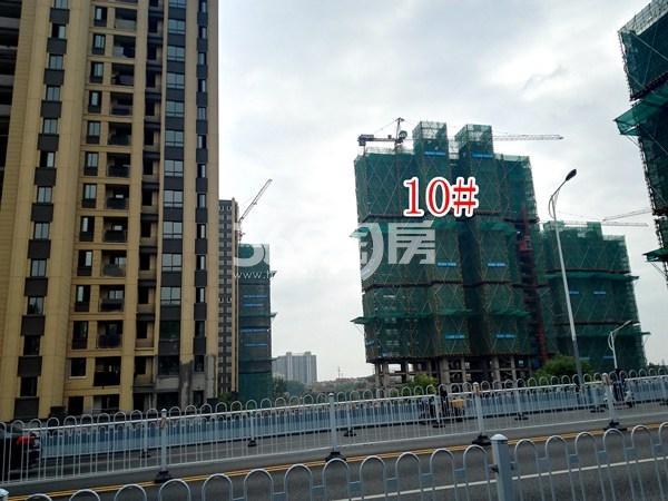 世茂东都天城10#工地实景图(10.16)
