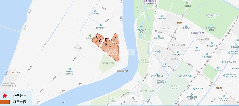 仁恒江湾世纪交通图