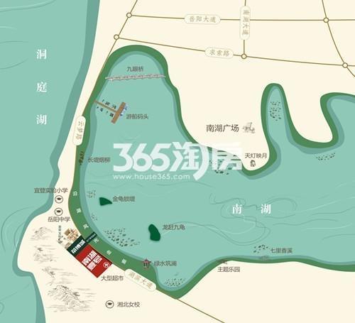 南湖壹号交通图