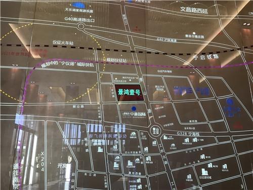 景鸿壹号交通图
