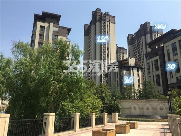 大华锦绣华城阅江山施工进展(1.2)