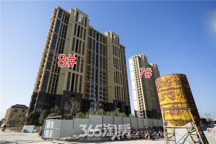 信德悦城7#、8#工程进度(2019.11摄)