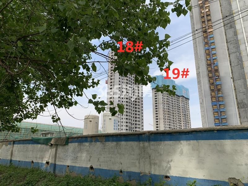 港利上城国际18、19#实景图(4.22)