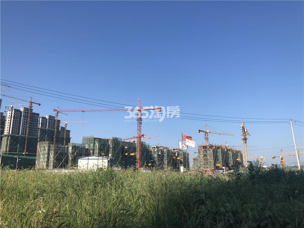 五矿江浦G25地块施工现状实景图(7.16)
