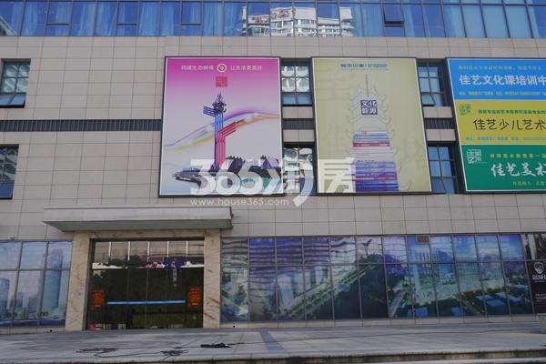 南翔城市广场 入口 201801