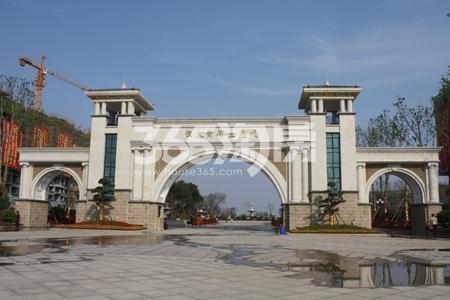 恒大黄河生态城实景图