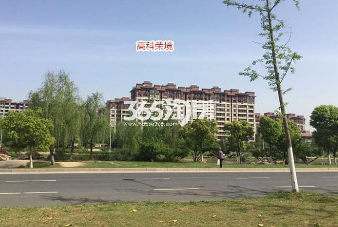 高科荣境二期交付楼栋实景图(7.26)
