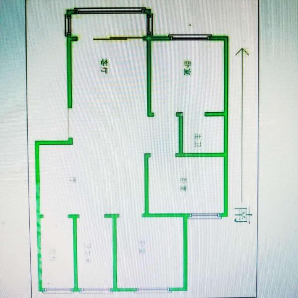 盘锦花园大三房精装修 房主诚心出售 超大空间给您舒适的居住环境