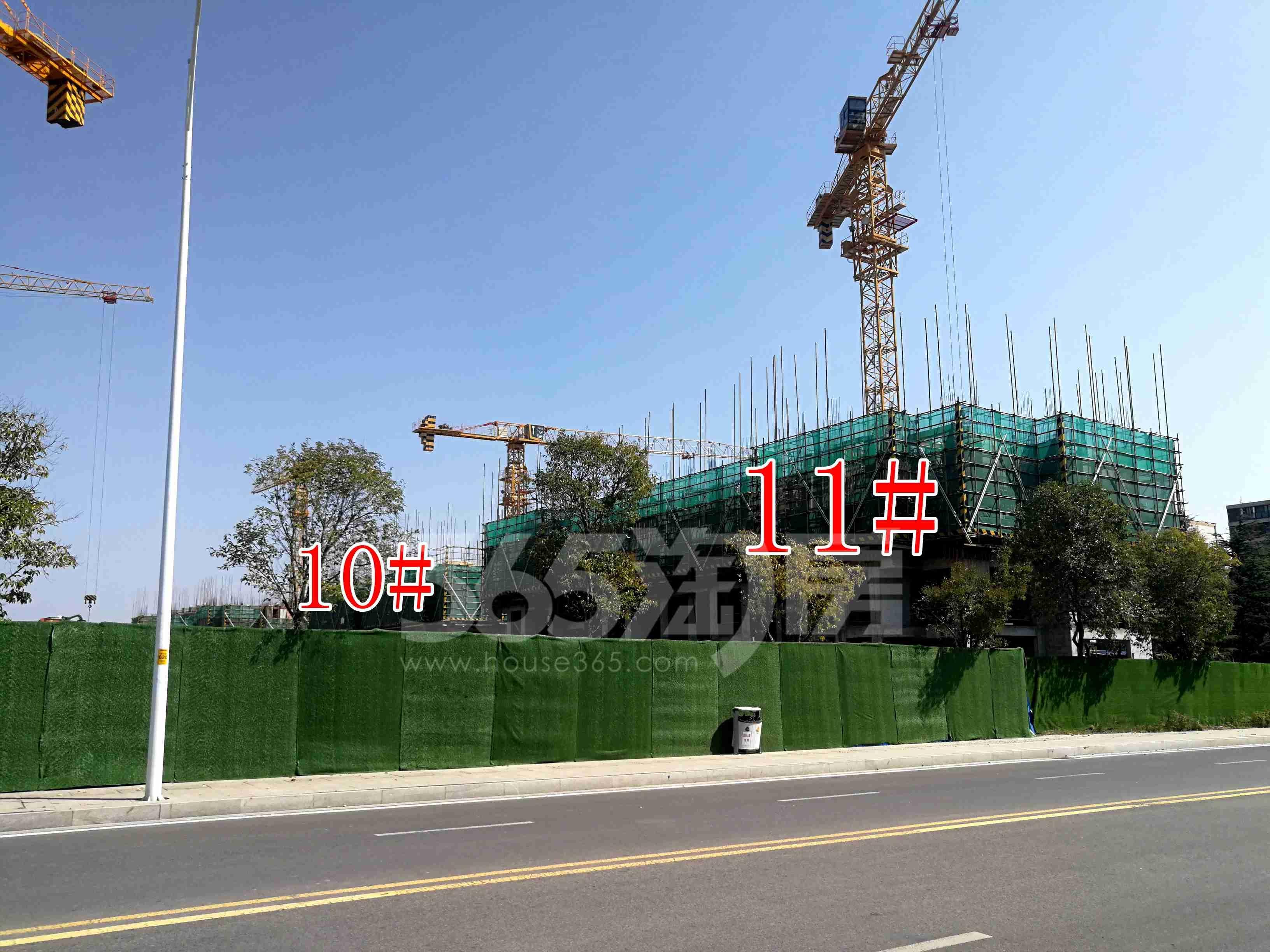 绿地淮海国博城实景图