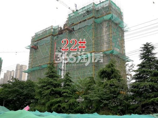 城置万锦城22#工地实景图(5.29)