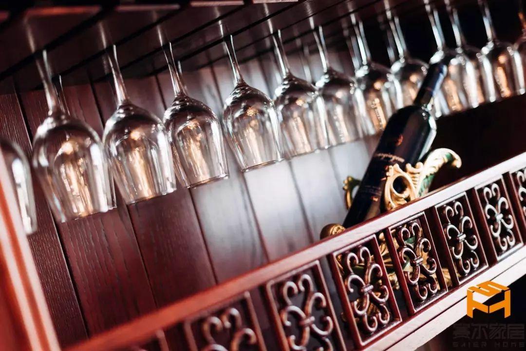 酒柜设计|酒柜|欧式酒柜