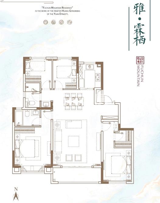 徐州富春山居户型图