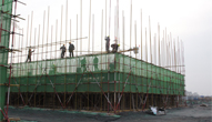 新乡国际五金机电城最新工程进度:优质工程实力打造