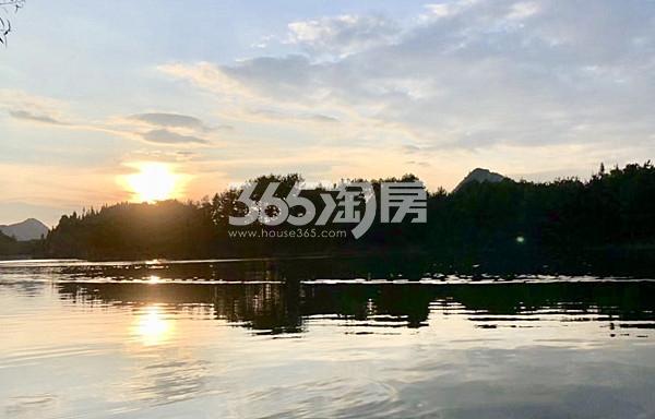 湖悦天境实景图