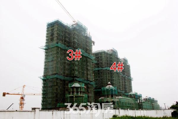 信德悦城3#4#施工中(2017.10摄)