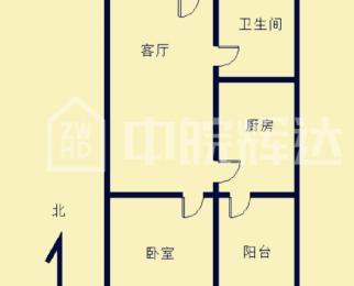 信旺华府骏苑 大 唐公寓 一室一厅 精装 无税 五十中三号线