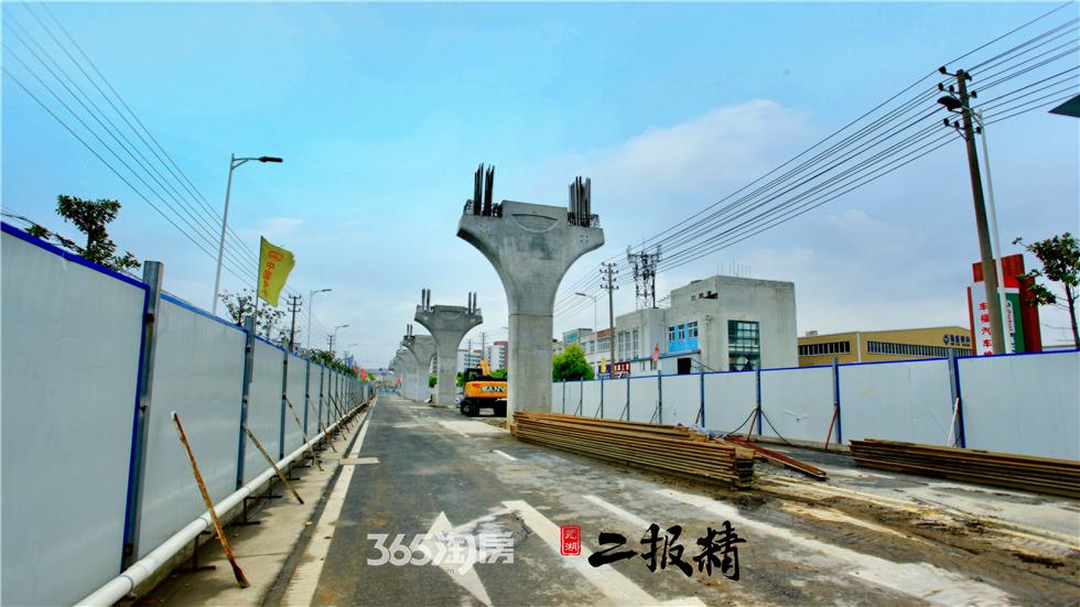 芜湖人翘首期盼的轨道一号线,最新进展出炉!
