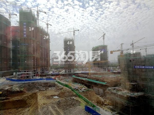 太平洋城中城三期高层实景(2018.5)