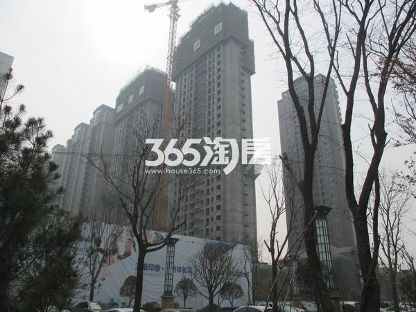 国润城最新施工进度(拍摄于2017.5)