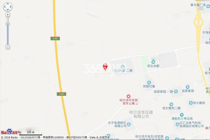 汇龙·澜湾九里交通图