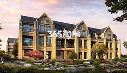万江北山园:联排别墅在售 均价17000元/平米