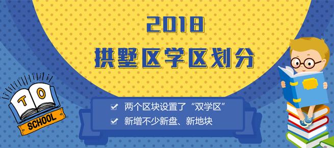 2018年拱墅区学区划分公布 这些新房等着你!