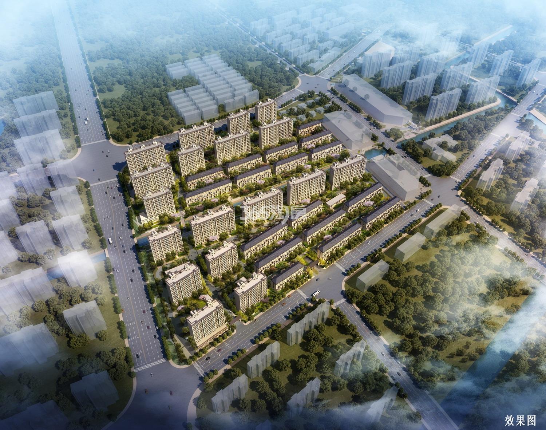 上海佳兆业城市广场鸟瞰图