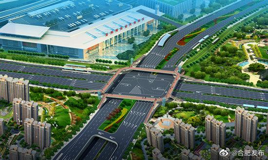 繁华大道畅通工程开始封闭改造