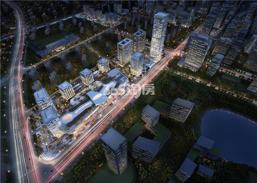 江北·万象企业中心鸟瞰图