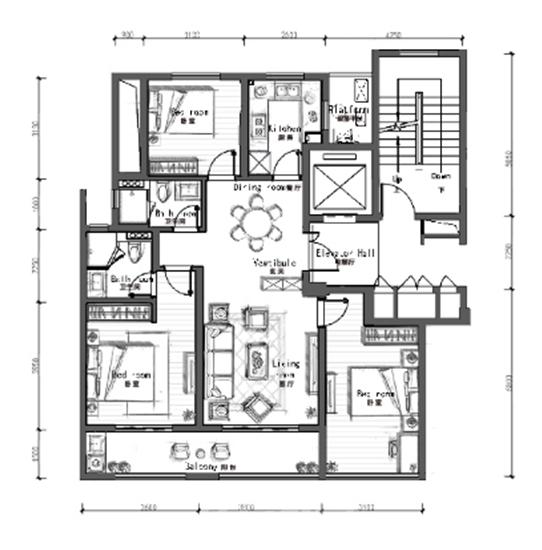 112方户型图(资料图片)
