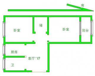 广丰三村整租 精装2房 设施齐全 拎包入住 交通方便