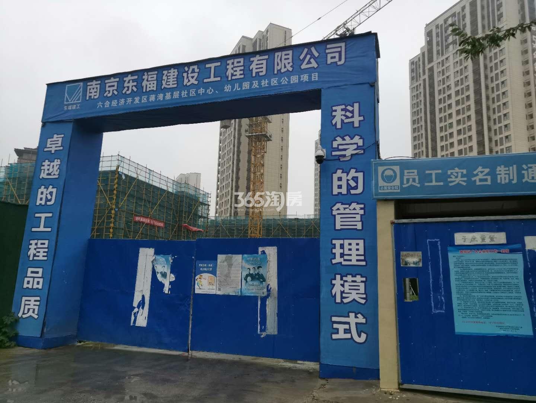 保利荣盛合悦周边配套—在建社区中心、幼儿园(7.31)