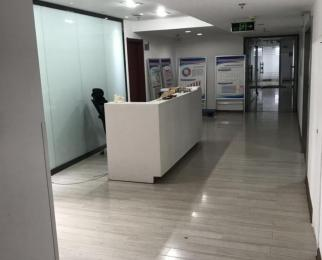 联通大厦 整层出租 得房率超高 玻璃隔断 会议室 大门头