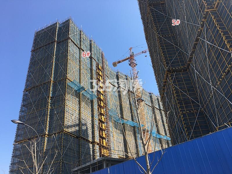 中国铁建西湖国际城5、6号楼实景图(2018.3)
