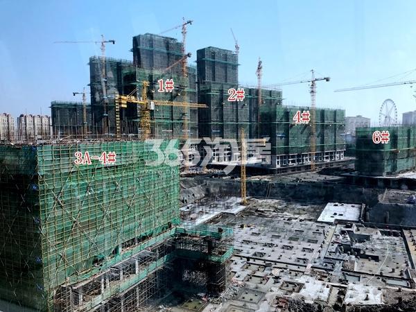 太平洋城中城三期高层及LOFT公寓4#楼工程进度(2018.3)