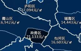 安徽16个地市最新房价版图出炉