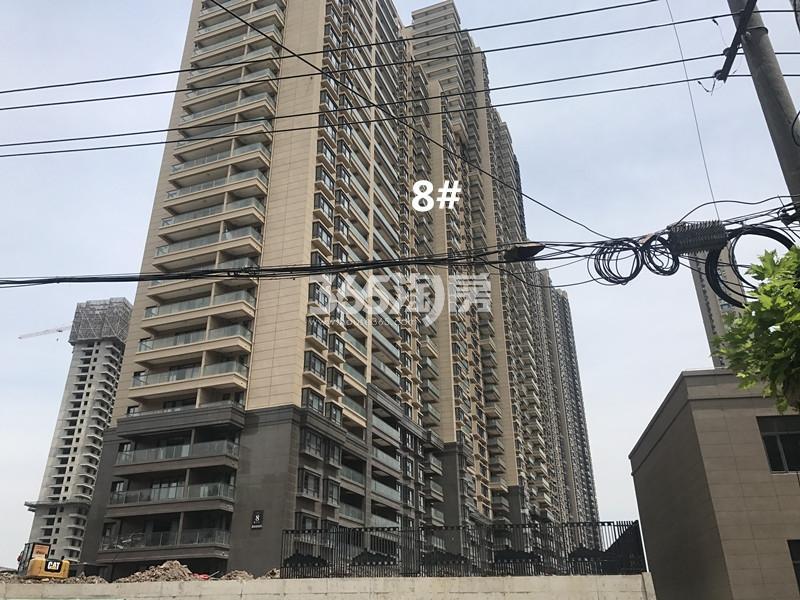世茂外滩新城8号楼实景图(11.24)