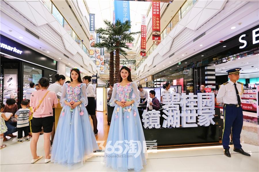 碧桂园镜湖世家万达城市展厅开放(2018.6摄)