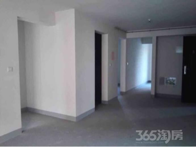 金地艺境3室2厅1卫98平米毛坯产权房2014年建