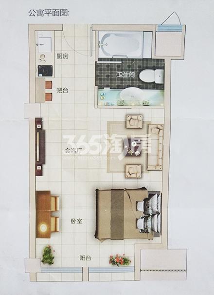 香江金郡户型图