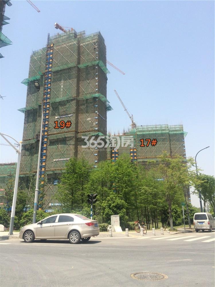 佳兆业城市广场17、19#在建实景图(4.20)