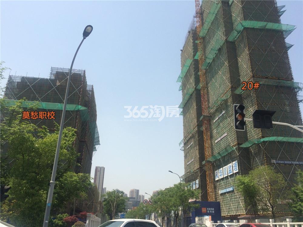 佳兆业城市广场20#在建实景图(4.20)