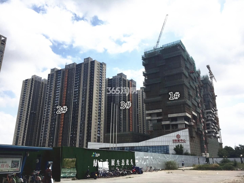 明发财富中心1、2、3号楼实景图(9.12)