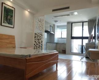 江北新区万汇城南区精装修单室套 装修温馨舒适随时看房拎