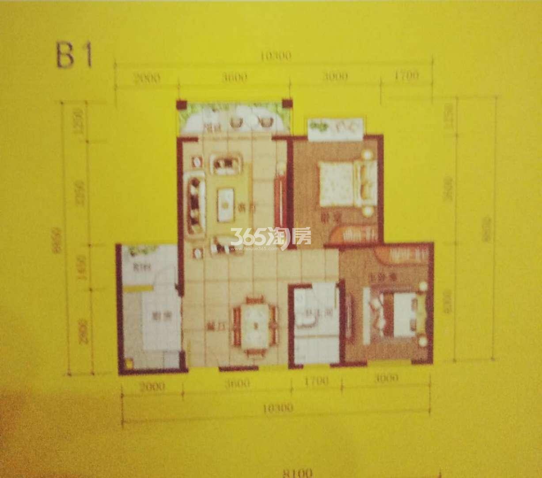 四通八达国际广场住宅户型图