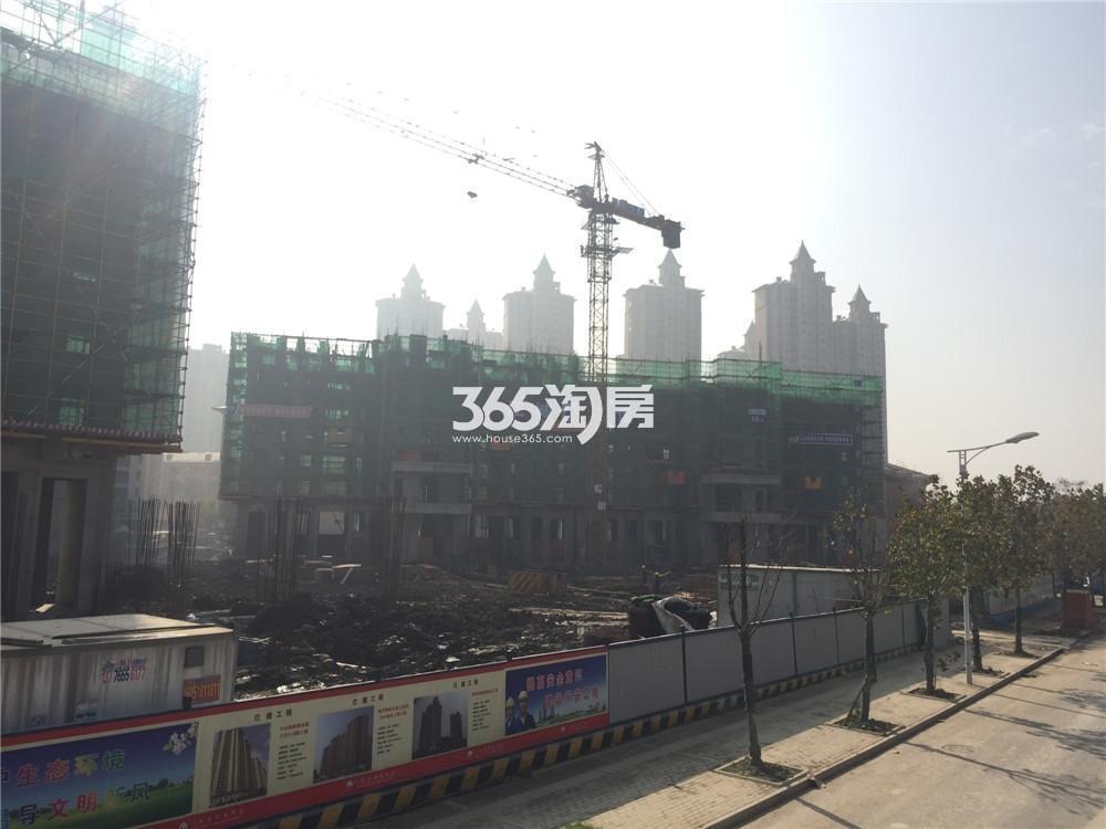 雅居乐滨江国际实景图(12.17)