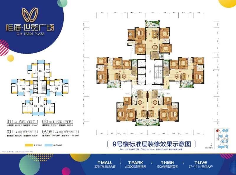 防城港桂海世贸户型图