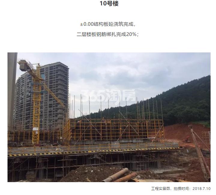 阳光城翡丽海岸10#施工进度实景图 2018年7月摄