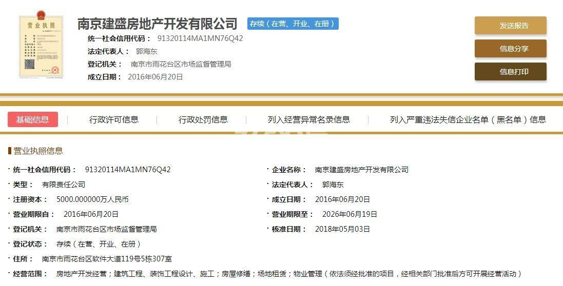 建发紫悦广场销售证照